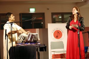 Alice Ungerer und Syed Mostofa Jahangir