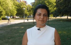 """Digital Talk 1 - """"Sensible Sprache"""" mit Rudaba Badakhshi - digitale Gesprächsreihe zum Thema """"Musik und Diversität""""."""